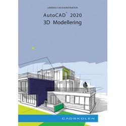 AutoCAD 2020 - 3D Modellering